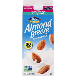 Unsweet. Original Almond Milk 8/64 oz