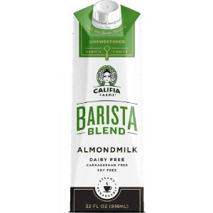 Califia Unswt. Barista Almond Milk 6/32 oz