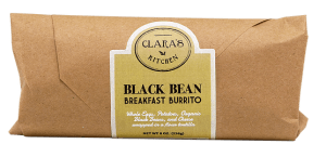 Black Bean Breakfast Burrito CS12