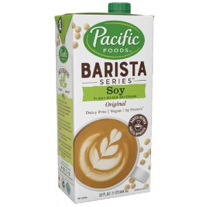 Pacific Barista Soy Milk (12/32 oz)