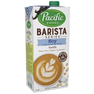 Pacific Barista Soy Vanilla Milk (12/32 oz)