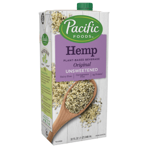 Pacific Unsweetened Hemp Milk (12/32 oz)