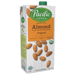 Pacific Organic Almond Milk (12/32 oz)