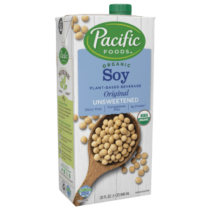 Pacific Organic Unsweetened  Soy Milk (12/32 oz)