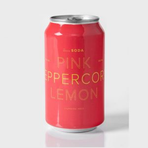 Dona Pink Peppercorn Lemon Spice Soda cs12