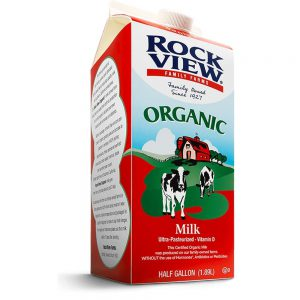 Rockview Whole Milk 1/2 Gallon