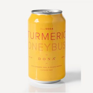 Dona Turmeric Honeybush Spice Soda cs12