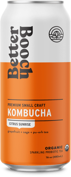 Better Booch Cans – Sunrise cs12 16 oz