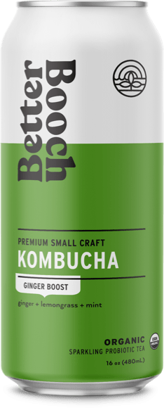 Better Booch Cans – Ginger Boost cs12 16 oz