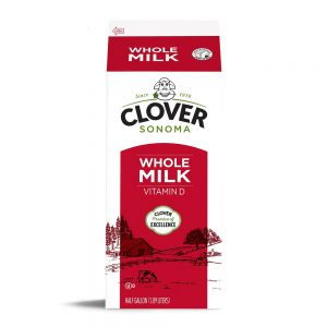 Clover Conventional Whole Milk