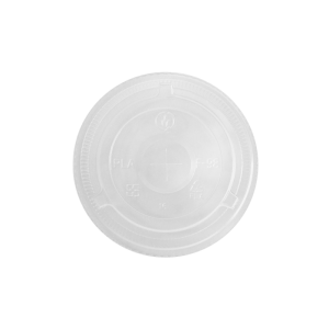 Karat Earth 12-24oz PLA Eco-Friendly Flat Lids (98mm) – 1,000 ct