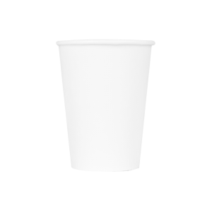 Karat 12oz Paper Hot Cups – White