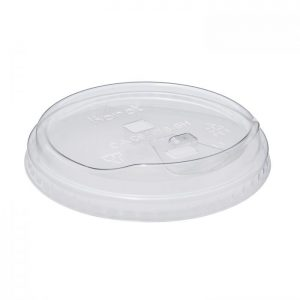 Karat Strawless Sipper lid for 12-24oz PET cup