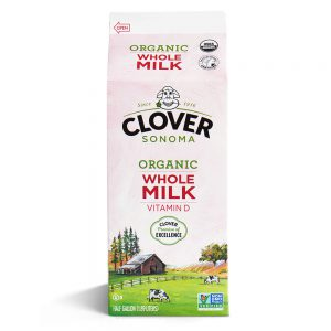 Clover Organic Whole Milk