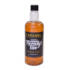 Barista 22 Caramel Syrup 750ml