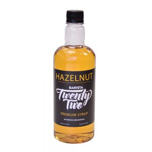 Barista 22 Hazelnut Syrup 750ml