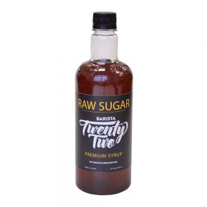 Barista 22 Raw Sugar Syrup 750ml