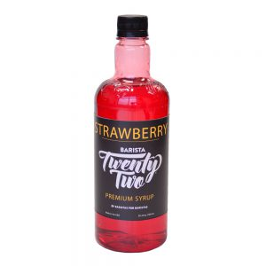 Barista 22 Strawberry Syrup 750ml