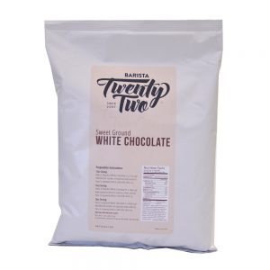 Barista 22 White Chocolate Powder 25lb